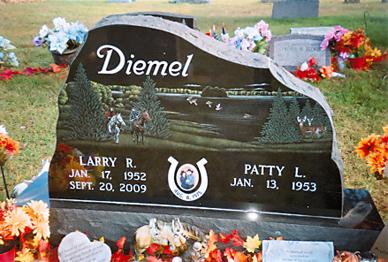 Etched Monument 25 - Diemel