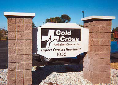 Sign 3 - Gold Cross