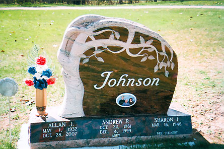 Carved Monument 3 - Johnson