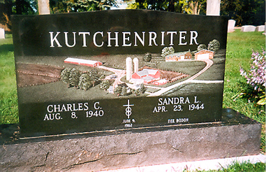 Etched Monument 27 - Kutchenriter