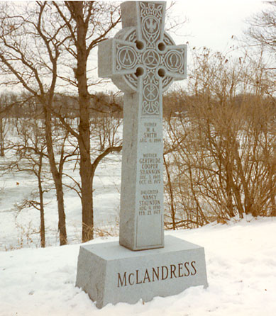 Carved Monument 5 - McLandress