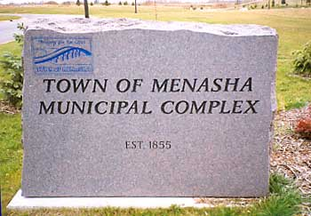 Sign 4 - Town of Menasha
