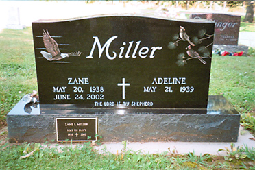 Etched Monument 20 - Miller