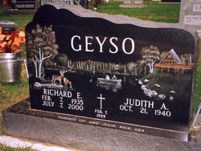 Etched Monument 3 - Geyso