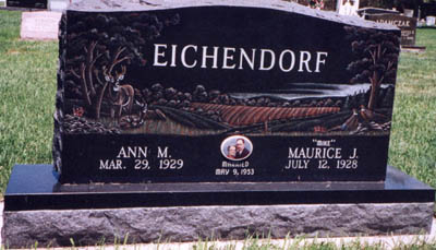 Etched Monument 15 - Eichendorf