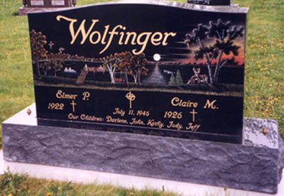Etched Monument 2 - Wolfinger