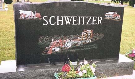 Etched Monument 22 - Schweitzer